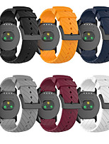 cheap -Watch Band for SUUNTO 9 / SUUNTO Spartan Sport / Suunto Spartan Sport Wrist HR Baro Suunto Classic Buckle Silicone Wrist Strap