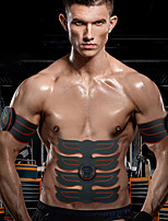 cheap -Abs Stimulator Abdominal Toning Belt EMS Abs Trainer Sports Silicon PU (Polyurethane) ABS Resin Exercise & Fitness Gym Workout Smart Electronic Muscle Toner Muscle Toning Tummy Fat Burner For Men