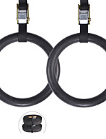 cheap -Gymnastic Rings Sports ABS Yoga Exercise & Fitness Gym Workout Adjustable Olympic Durable Heavy Duty Crossfit Shoulder Strength High Strength For Men Women