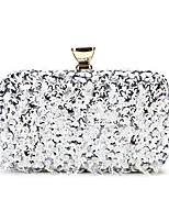 cheap -Women's Glitter / Crystals Polyester / Alloy Evening Bag Blushing Pink / Gold / Blue