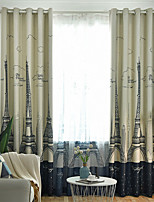 cheap -Gyrohome 1PC Tower Castle Shading High Blackout Curtain Drape Window Home Balcony Dec Children Door *Customizable* Living Room Bedroom Dining Room