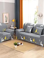 Недорогие -мультяшный олень с принтом пыленепроницаемый всесильный чехлы для стрейч чехлы для диванов супер мягкая ткань чехла с одной бесплатной наволочкой
