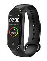 Недорогие -M4 Универсальные Умные браслеты Android iOS Bluetooth Пульсомер Измерение кровяного давления Спорт Израсходовано калорий Термометр