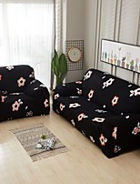 cheap -Nordic Simple Style Black Printing Elastic Sofa Cover Stretchable Combination Sofa Cover
