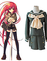 cheap -Inspired by Shakugan no Shana Shana Anime Cosplay Costumes Japanese Cosplay Suits Top Skirt Bow Tie For Women's