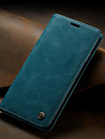 cheap -CaseMe Retro Business Leather Magnetic Flip Case For iPhone 6 / 7 / 8 / 6S / 8 Plus / 7 Plus / 6 Plus With Wallet Card Slot Stand Case Cover