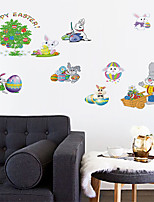 cheap -Animals / Holiday Wall Stickers Plane Wall Stickers Decorative Wall Stickers, PVC Home Decoration Wall Decal Wall / Window Decoration 1pc