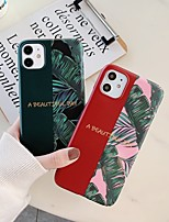 cheap -Case for Apple scene map iPhone 11 11 Pro 11 Pro Max X XS XR XS Max 8 Colorful flower pattern fine frosted TPU material IMD process all-inclusive mobile phone case