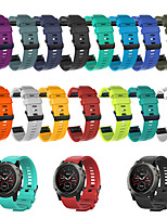 cheap -Watch Band for Fenix 5s / Fenix 5S Plus Garmin Sport Band Silicone Wrist Strap