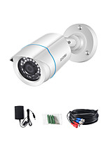 cheap -ZOSI 1080P 3.6mm AHD CVI CVBS TVI CCTV IR-CUT Analog CMOS Outdoor Video Camera Home Security Systems Bullet Waterproof Camera With HD Night Vision