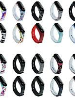 cheap -Watch Band for Mi Band 3 / Xiaomi Mi Band 4 Xiaomi Sport Band Silicone Wrist Strap