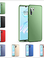 cheap -Case For Huawei Huawei Nova 3i / Huawei Nova 4 / Huawei nova 4e Frosted Back Cover Solid Colored PC