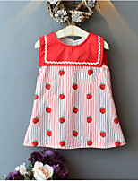cheap -Kids Girls' Fruit Dress Red