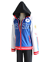 cheap -Inspired by Yuri!!! on ICE Yuri Plisetsky Anime Cosplay Costumes Japanese Cosplay Suits Coat Pants Hoodie For Women's