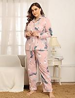 cheap -Women's Suits Nightwear Blushing Pink S M L