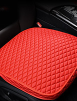 cheap -Full Package Of Car Seat Cushion Car Seat Covers Single Seat Cushion Universal For Driver And Copilot Four Seasons Compatible With Air Bag Breathable Ice Wire Material
