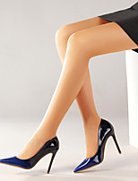 cheap -Women's Heels Stiletto Heel Pointed Toe Patent Leather Business / Sweet Spring &  Fall / Spring & Summer Brown / Blue / Party & Evening