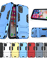 cheap -Case For Apple scene map iPhone 11 11 Pro 11 Pro Max Iron Man series invisible stand PC TPU 2-in-1 armor anti-fall phone case