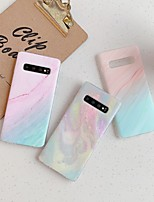 cheap -Case For Samsung scene map Samsung Galaxy S20 S20 Plus S20 Ultra A51 A71 colorful marble pattern frosted TPU material IMD process all-inclusive mobile phone case MYL