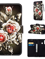 cheap -Case For Samsung Galaxy S9 / S9 Plus / S8 Plus Wallet / Card Holder / Rhinestone Full Body Cases Flower PU Leather for Galaxy S20 PLUS S20 ULTRA S20 A51 A71 A50 A40 A30 A20 A10S NOTE10 J4 PLUS