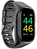 cheap -m1 Unisex Smartwatch Android iOS Bluetooth Heart Rate Monitor Blood Pressure Measurement Sports Long Standby Exercise Record Timer Stopwatch Pedometer Call Reminder Sleep Tracker