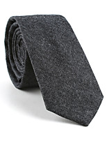 cheap -Men's Party / Work / Basic Necktie - Print / Jacquard / Solid Colored