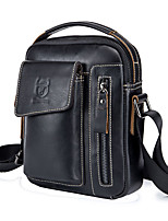 cheap -Crossbody Bag Multifunctional Large Capacity Wearable for Other Leather Type # Men's Casual Outdoor Exercise Traveling