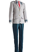 cheap -Inspired by My Hero Academia Boko No Hero Midoriya Izuku Anime Cosplay Costumes Japanese Cosplay Suits Coat Pants Tie For Men's