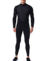 cheap -Men's Full Wetsuit 3mm SCR Neoprene Diving Suit Quick Dry Long Sleeve Back Zip Patchwork Autumn / Fall Spring Summer / Winter / High Elasticity