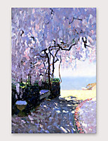 cheap -IARTS®Hand Painted Beautiful rest area Oil Painting   with Stretched Frame For Home Decoration