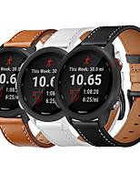 cheap -Watch Band for Vivoactive 3 Garmin Classic Buckle Genuine Leather Wrist Strap