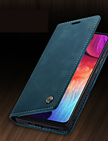 cheap -CaseMe New Business Leather Magnetic Flip Case For Samsung Galaxy A70 / A50 With Wallet Card Slot Stand Case Cover