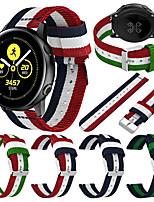 cheap -Watch Band for Gear S2 / Samsung Galaxy Active / Samsung Galaxy Watch Active Samsung Sport Band / Classic Buckle / Modern Buckle Nylon Wrist Strap