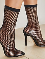 cheap -Women's Heels Spring & Summer Stiletto Heel Pointed Toe Daily PU Black