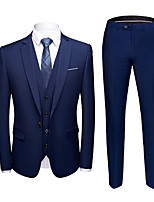 cheap -Tuxedos Standard Fit Notch Single Breasted One-button Polyester British / Fashion