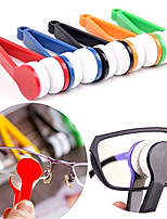 cheap -5pcs Microfiber Mini Sun Glasses Eyeglass Clean Brush Cleaning Spectacles Tool