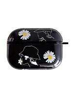 cheap -Case For AirPods Pro Cute / Pattern Headphone Case Soft