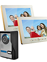 cheap -Wired 10 Inch Hands-free 800*480 Pixel One To Two Video Doorphone