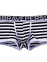 cheap -Men's Basic Boxers Underwear - Normal Low Waist Yellow Blue Royal Blue S M L
