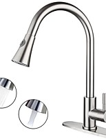 cheap -Kitchen faucet - Single Handle One Hole Electroplated Standard Spout Deck Mounted Contemporary Kitchen Taps