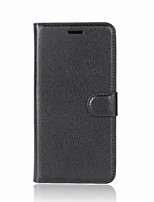 cheap -Case For Nokia Nokia 9 / Nokia 9 PureView / Nokia 8 Wallet / Card Holder / Flip Full Body Cases Solid Colored PU Leather / TPU