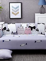 cheap -Cartoon Starry Sky Print Dustproof All-powerful Slipcovers Stretch Sofa Cover Super Soft Fabric Couch Cover with One Free Pillow Case