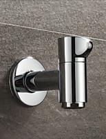 cheap -Short Mop pool faucet Single Handle One Hole Chrome Standard Spout Other Contemporary Kitchen Taps
