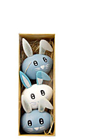 cheap -Happy Easter bunny egg Holiday Decorations objects 1set