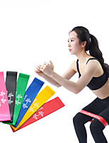 cheap -Booty Bands Resistance Bands for Legs and Butt Sports Latex silk Yoga Pilates Exercise & Fitness Stretchy Durable Stress Relief Butt Lift For Women