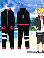 cheap -Inspired by Naruto Uzumaki Boruto Anime Cosplay Costumes Japanese Outfits Top Pants For Men's Women's