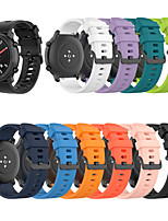 cheap -Watch Band for Huami Amazfit Bip Younth Watch / Amazfit  GTR  42mm / Amazfit Bip Lite Amazfit Classic Buckle Silicone Wrist Strap