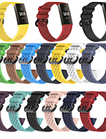 cheap -Watch Band for Fitbit charge3 Fitbit Sport Band TPE Wrist Strap