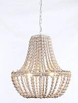 cheap -QIHengZhaoMing 3-Light 50 cm Globe Design Chandelier Metal Resin Painted Finishes Modern 110-120V / 220-240V