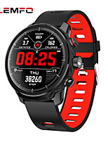cheap -LEMFO L5 Unisex Smartwatch Android iOS Bluetooth Waterproof Heart Rate Monitor Blood Pressure Measurement Distance Tracking Information Pedometer Call Reminder Activity Tracker Sleep Tracker